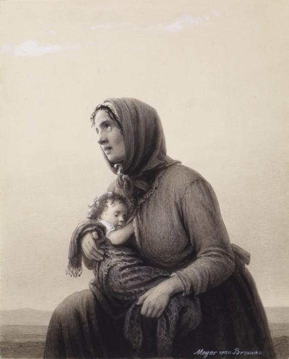 Kneeling Peasant Woman
