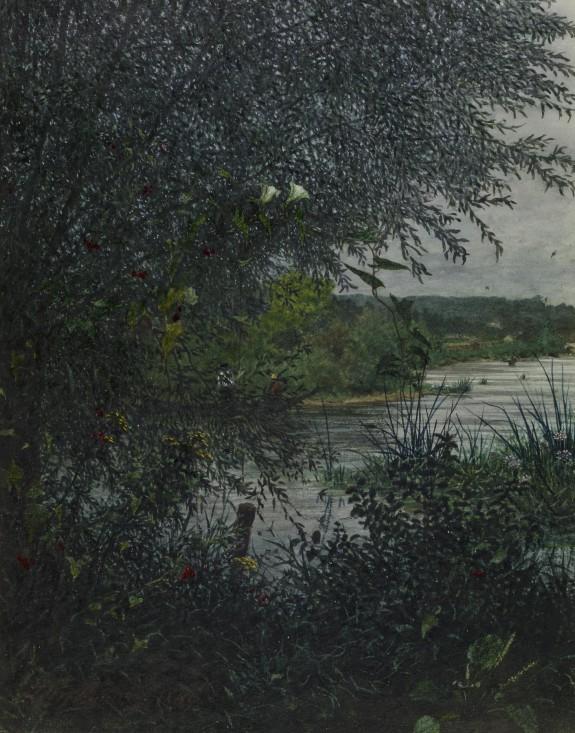 Fishermen on a Stream
