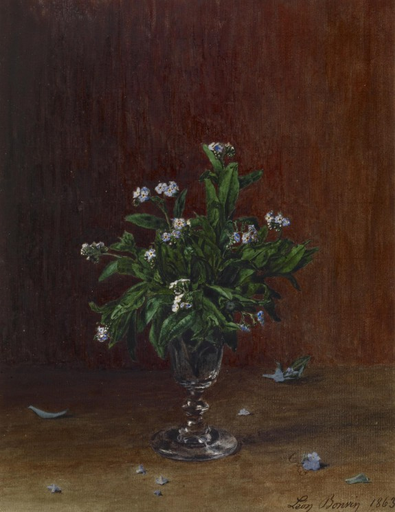 Goblet with Forget-me-nots