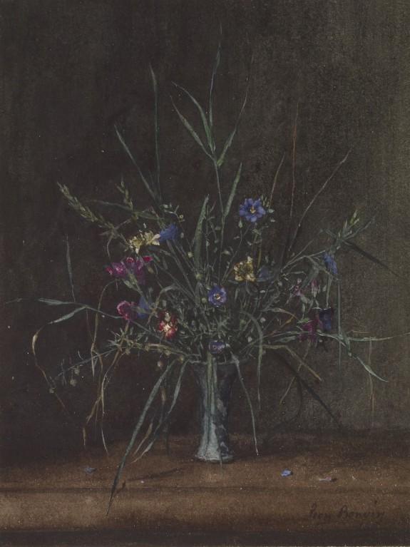Vase of Wild Flowers