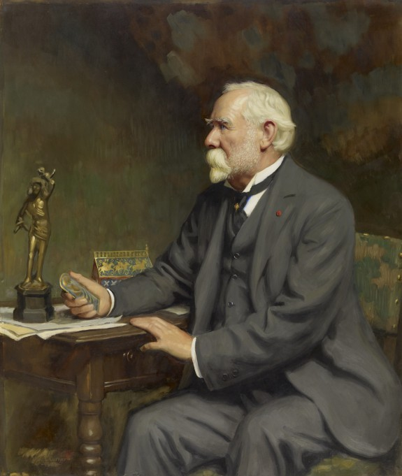 Portrait of Henry Walters