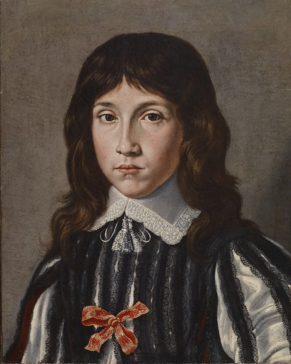 Portrait Bust of a Young Boy
