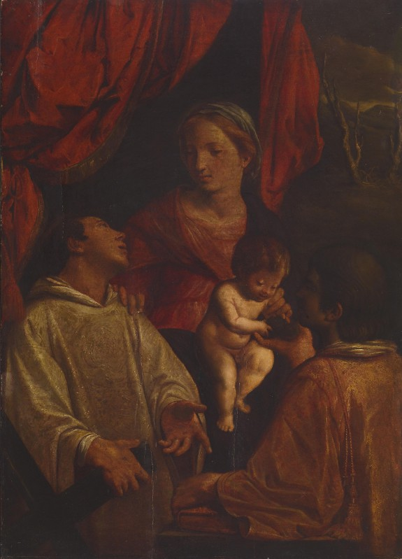 Madonna and Child with St. Lawrence and St. Stephen