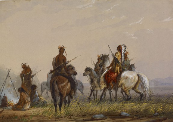 Expedition to Capture Wild Horses -Sioux