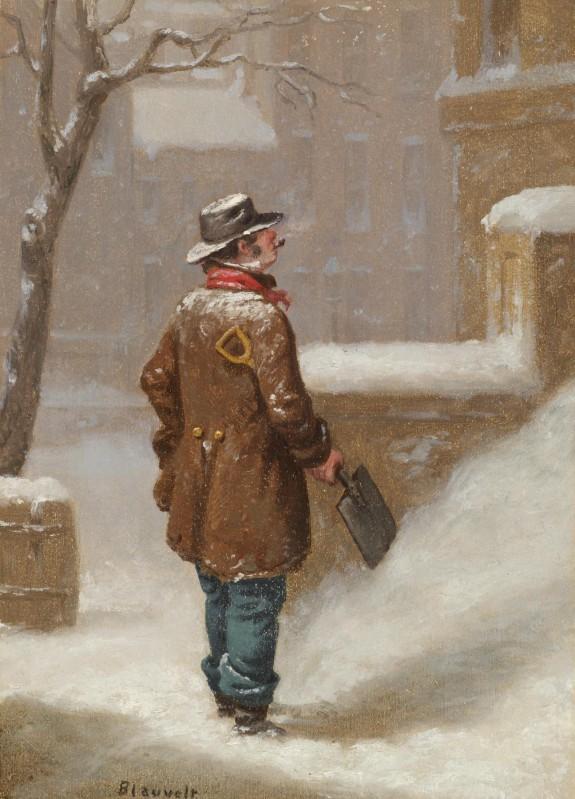 Looking For a Job (Snow Shoveller)