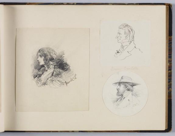 Album of Original sketches
