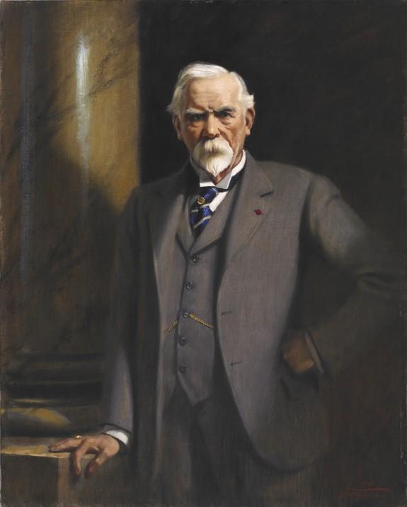 Portrait of Henry Walters