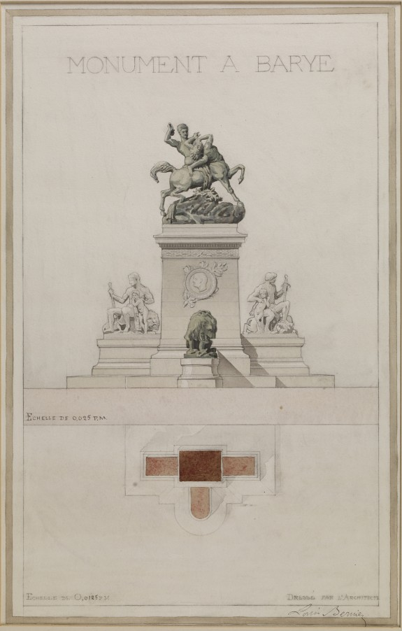 Project for a Monument to Barye