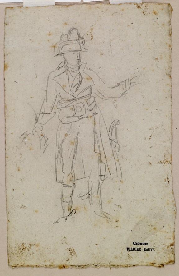 Sketch of Costume of General Bonaparte