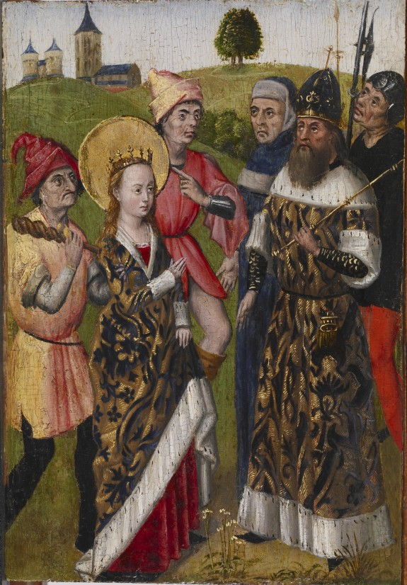 Saint Catherine Confronting the Emperor