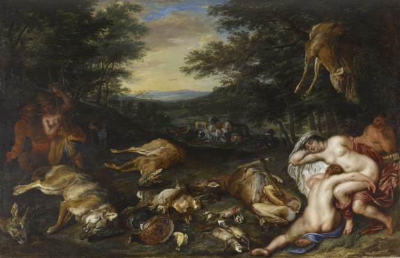 Diana and Her Nymphs after Their Hunt