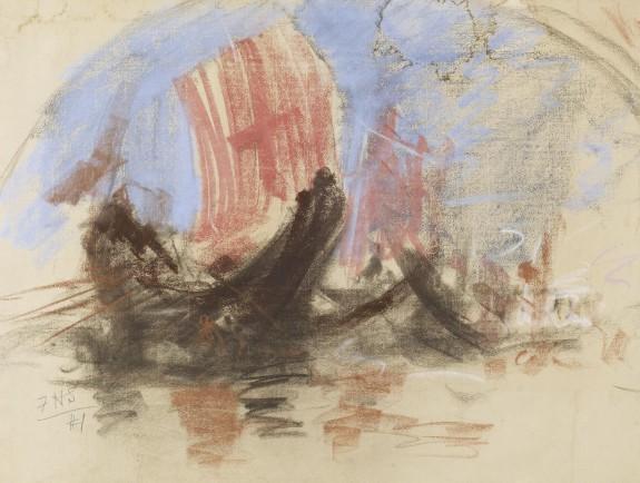 Scene of a Regatta, Venice