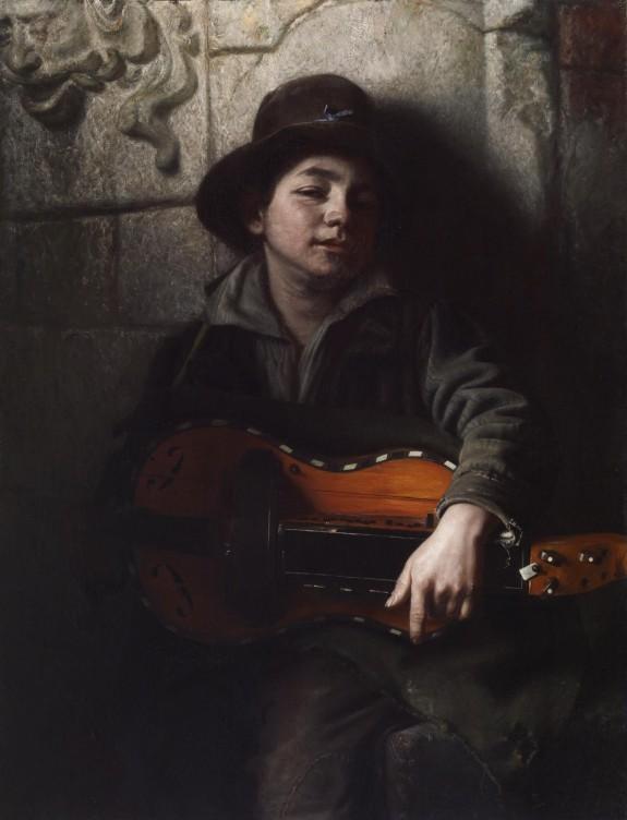 The Italian Boy with Hurdy-Gurdy