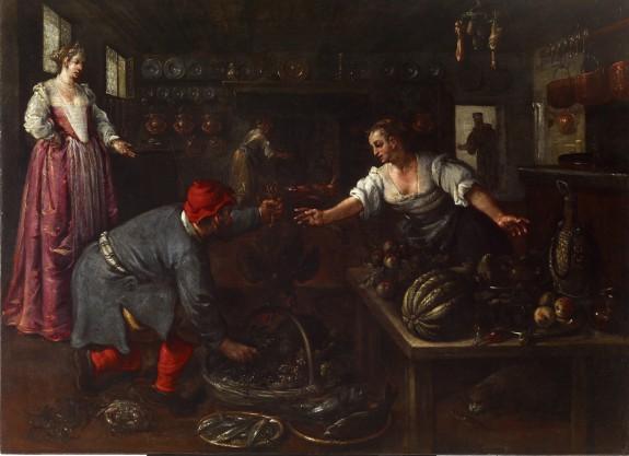 Venetian Kitchen Interior