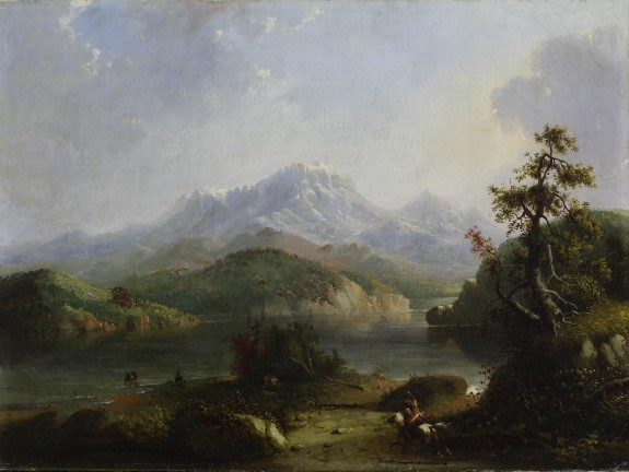 Rocky Mountain Scene, Wind River Mountains
