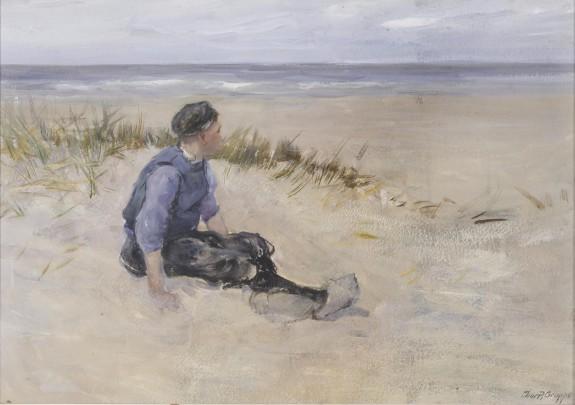 Figure on Beach, Holland