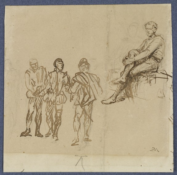 Four Figural Studies