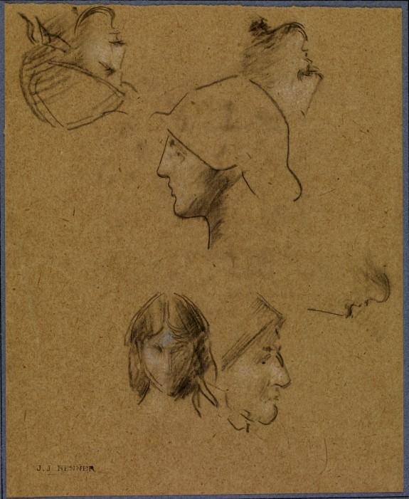 Studies of Six Heads