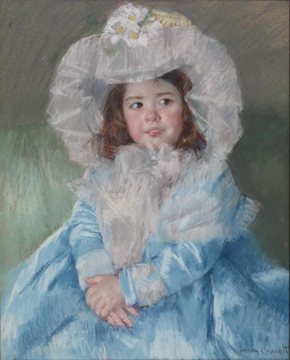 Margot (Lefebvre) in Blue