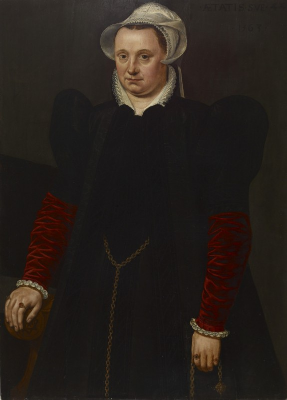 Portrait of a Woman with a Pomander
