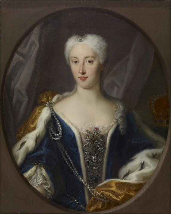Portrait of Maria Clementina Sobieska