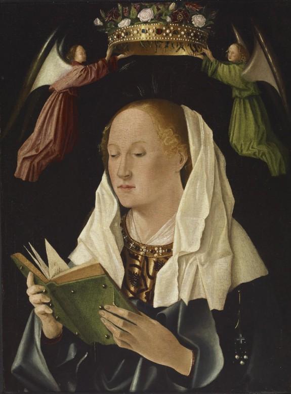 The Virgin Mary Reading