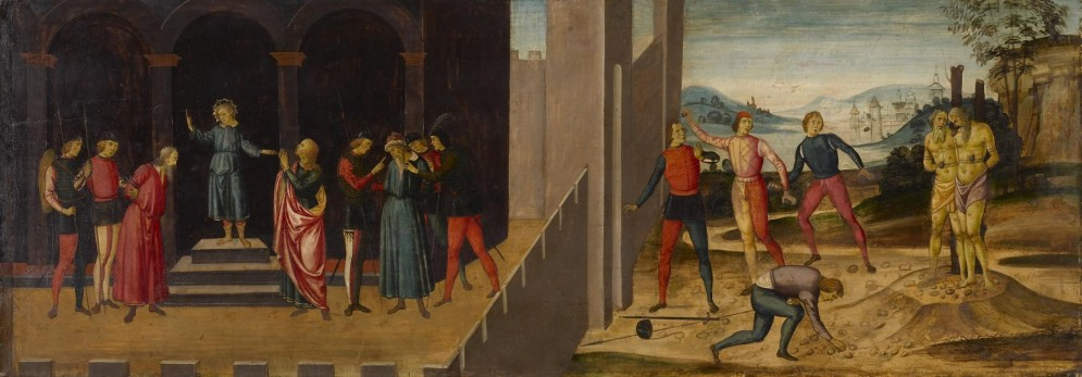 The Story of Susanna: The Trial and Stoning of the Elders