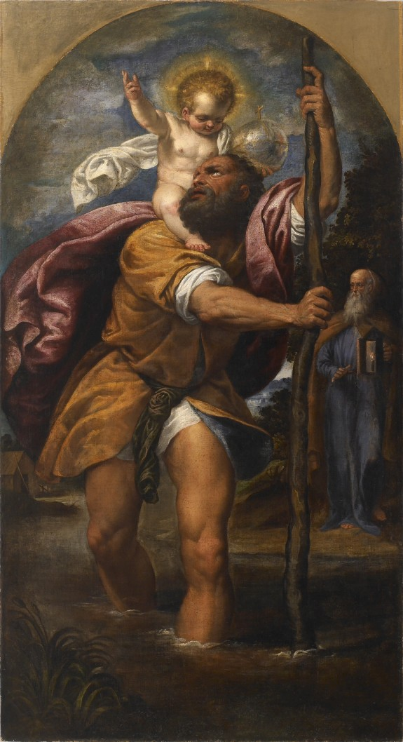 St. Christopher and the Christ Child