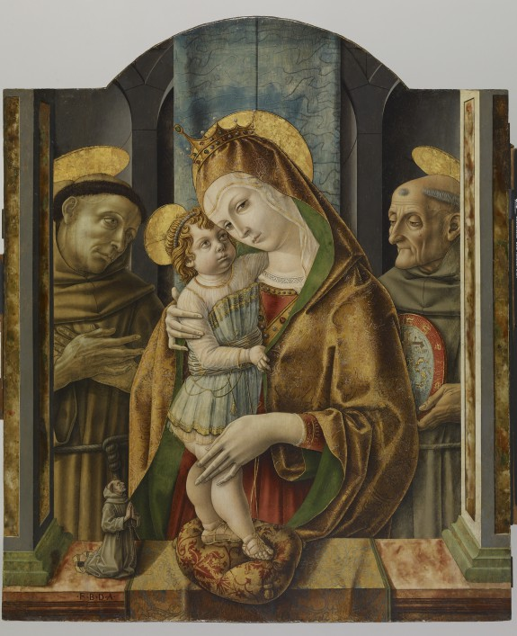 Virgin and Child with Saints and Donor