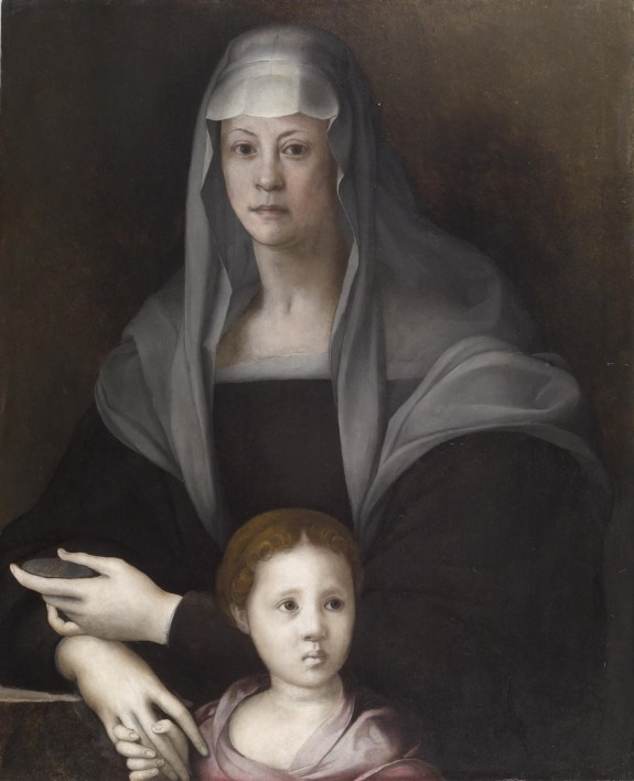 Portrait of Maria Salviati de' Medici and Giulia de' Medici