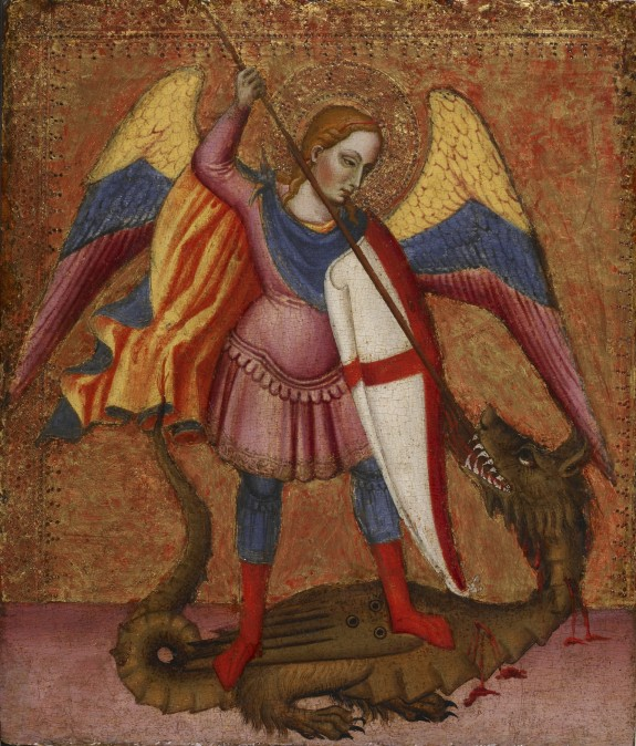 Archangel Michael Slaying the Dragon