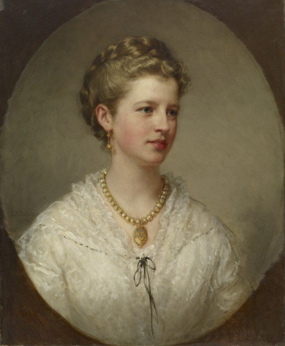 Portrait of a Lady (the Artist's Daughter)