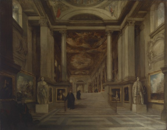 Interior of the Painted Hall, Greenwich Hospital