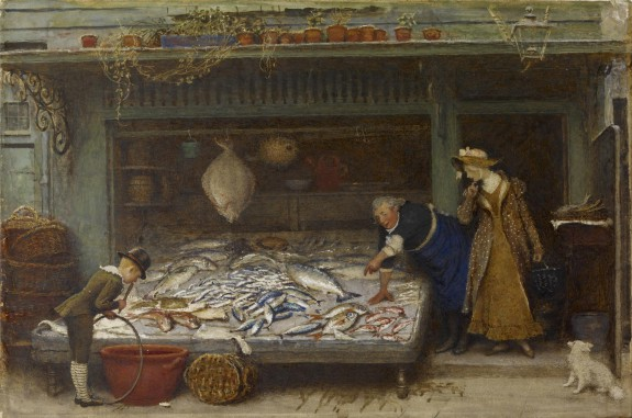 A Fishmonger's Shop