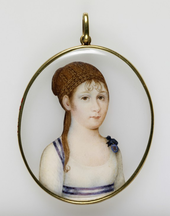 Portrait Miniature of Princess Louisa Carlotta