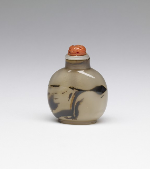 Snuff Bottle with Branch