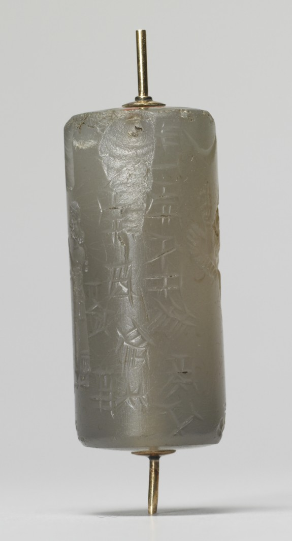 Cylinder Seal with an Archer and a Winged Lion