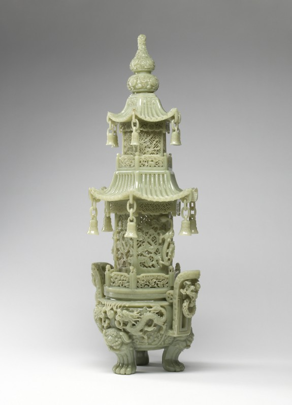 Incense Burner in the Form of a Pagoda