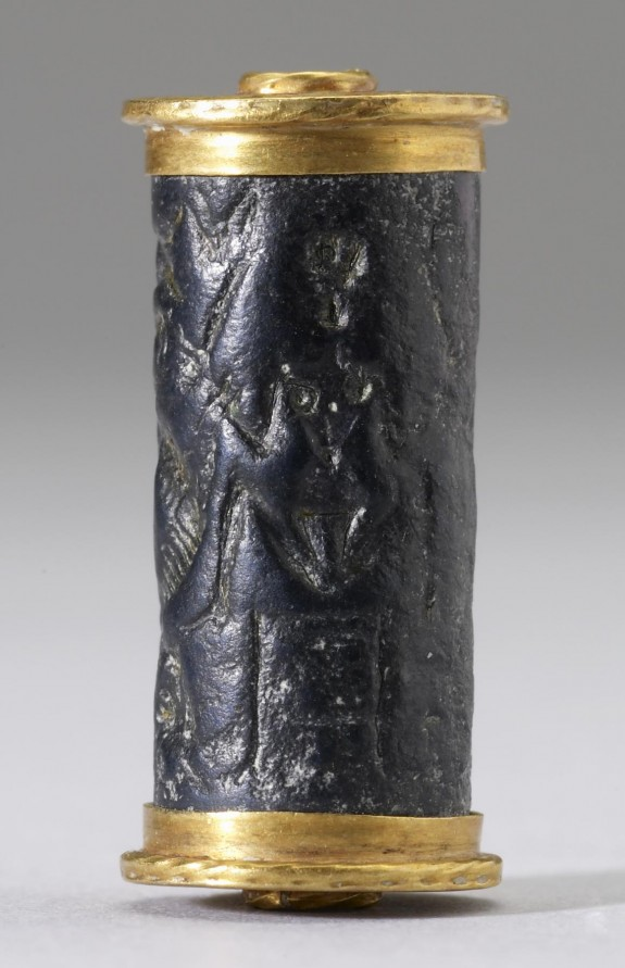 Cylinder Seal with a Nude Goddess