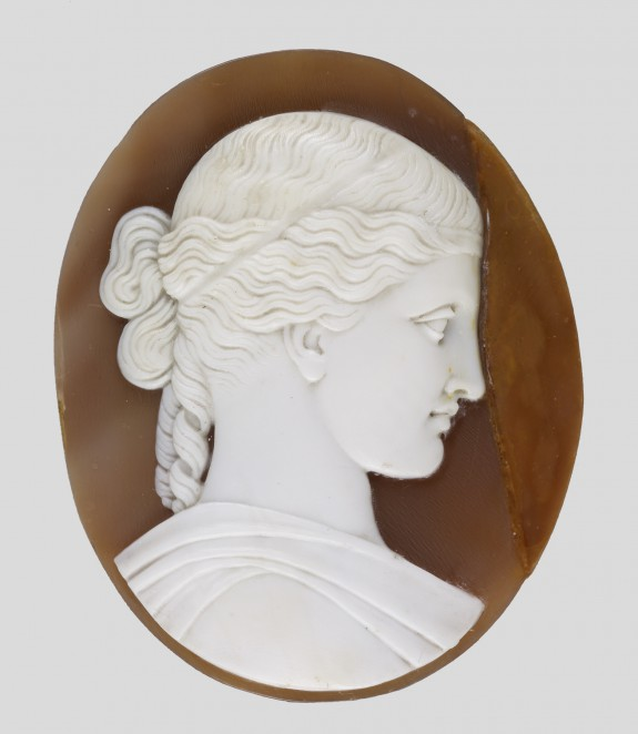 Cameo after William Henry Rinehart's Sculpture