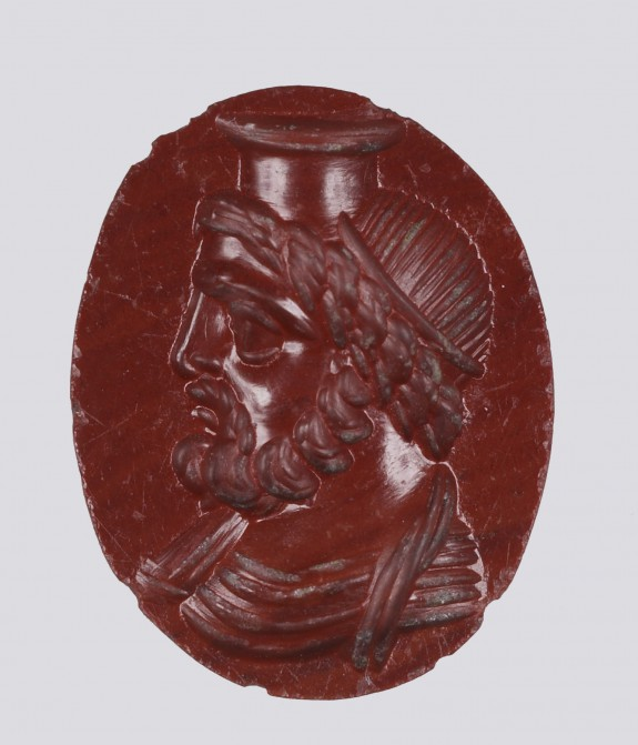 Intaglio with a Bust of Serapis