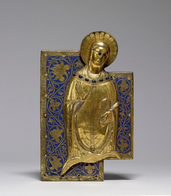 Cross Fragment of the Mourning Virgin