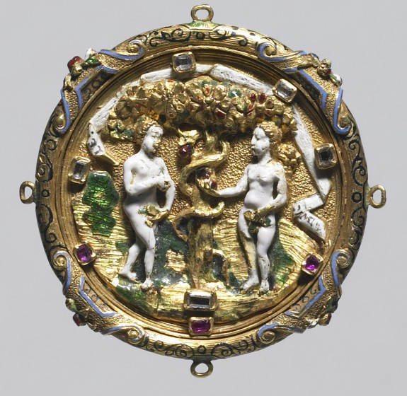 Hat Badge with the Fall of Man