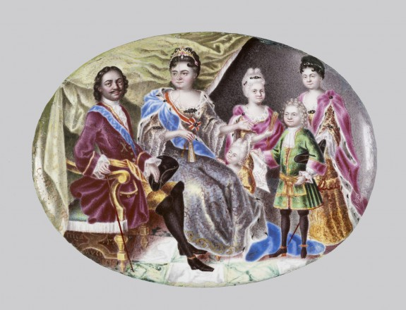 Portrait Medallion of Peter the Great and Family
