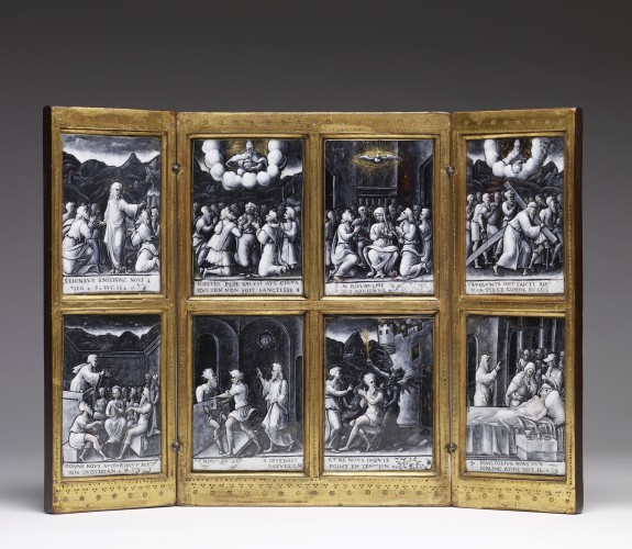 Triptych with the Lord's Prayer
