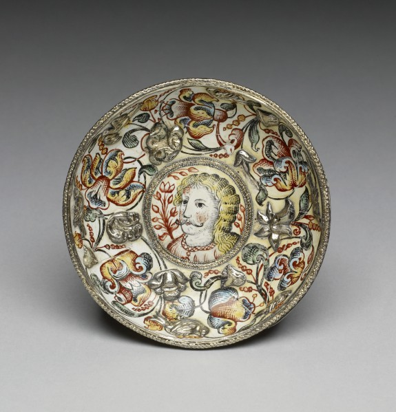 Bowl with Portrait of a Man