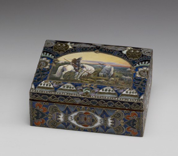 Box with a Miniature: Warrior at the Crossroads