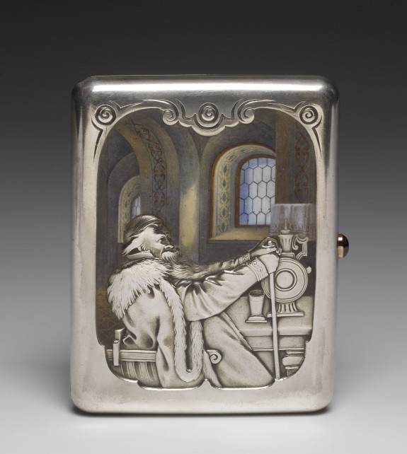 Cigarette Case with The Boyar