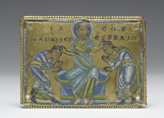 Jacob Blessing Manasses and Ephraim