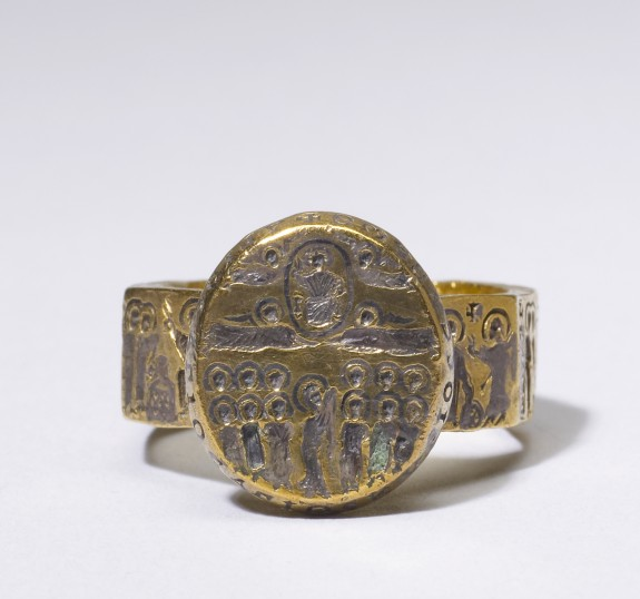Marriage Ring with Scenes from the Life of Christ